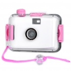 Twins Star 35 millimeters Film Lomo Camera with Waterproof Casing White (Digital Cameras Category)