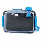Twins Star 35 millimeters Film Lomo Camera with Waterproof Casing Blue (Digital Cameras Category)
