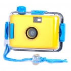 Twins Star 35 millimeters Film Lomo Camera with Waterproof Casing Yellow (Digital Cameras Category)