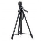 KANGTENG QB381 3-Section Aluminium Tripod -- Black (Max. 10kg) (Camera Accessories Category)