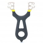 RR413 Professional Titanium Alloy Slingshot with Five Balls / Rubber Strip (Camping & Outdoors Category)