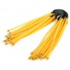 FI153 6-String Rubber Bands for Slings- Black Plus Yellow (Camping & Outdoors Category)