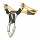 GS994 Stainless Steel Outdoor Slingshot -- Silver Plus Black (Camping & Outdoors Category)