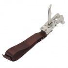 VP280 Professional Stainless Steel Release Aid for Slings- Silver Plus Brown (Camping & Outdoors Category)