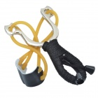 NV130 JCK Metal Slingshot Black Rope with Five Balls -- Silver (Camping & Outdoors Category)