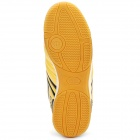 Indoor Football Soccer Shoes Golden Plus Black (Size 40 / EU) (Soccer Category)