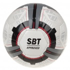 PU Football Soccer with Ball Needle White Plus Grey (Soccer Category)