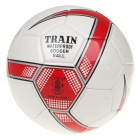 PU Football Soccer White Plus Red (Soccer Category)