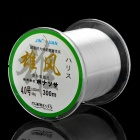 0.323 millimeters 300M Resin Fishing Line / Thread White (#4) (Fishing Gear Category)