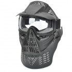 Paintball War Game Protection Face Mask Shield Black (Camping & Outdoors Category)