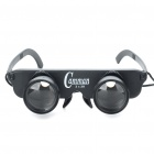 3x28 Glasses Fishing Binoculars Telescope Black (Binoculars Category)