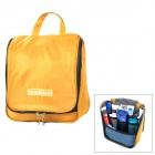 FQ973 Portable Travel Waterproof Nylon Wash Bag -- Yellow (Travel Accessories Category)