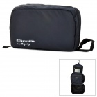 ZE203 Nature Hike Big Capacity Nylon Travel Camping Wash Toilet Bag -- Navy Blue (Travel Accessories Category)