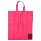 ZA852 Portable Multifunction Travel Nylon Body Hygiene Kit / Wash / Toilet Bag -- Deep Pink (Travel Accessories Category)