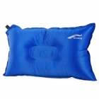 QQ590 Ry-der-GD Outdoor Auto Air Inflatable Lengthened Cushion Pillow for Traveling -- Blue (Travel Accessories Category)