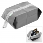 SB639 WE-LLHOUSE-GD Portable Traveling Zippered Shoes Bag -- Grey (Travel Accessories Category)
