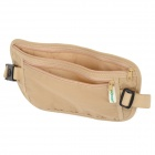CG457 WE-LLHOUSE-GD WH-00333 Outdoor Sports Travel Nylon Waist Bag -- Beige (Size L) (Travel Accessories Category)