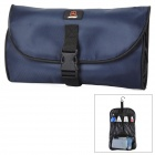 JO-YTOUR-GD KY937 Oxford Fabric Travel Camping Wash Toiletry Bag -- Navy Blue (Travel Accessories Category)