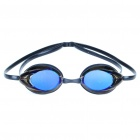 Anti Fog Polycarbonate Lens Swimming Goggles Glasses Black Plus Blue (Swimming Accessories Category)