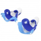 WS555 Professional PVC Hallux Valgus / Bunion Regulator -- Blue Plus White (2 Pieces) (Clothes and Shoes Category)