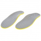 AV572 Adjustable Shoe Insole Pads -- Grey Plus Yellow (Clothes and Shoes Category)