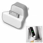 MK499 Bl-ueLounge-GD USB to Apple 30 Pin Charger Dock for iPod / iPad / iPhone -- Grey Plus White (Docking Stations & Cradles Category)