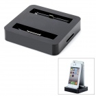 UW920 2 in 1 Data Sync / Charging Docking Station for iPhone 4 / 4S / 5 -- Black (Docking Stations & Cradles Category)