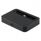 PU607 Charging Dock Stand for iPhone 5s -- Black (Docking Stations & Cradles Category)