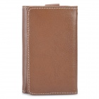 Wallet Design Protective PU Leather Case for iPhone 3GS / 4 / 4S Coffee (Mobile Phone Leather Cases Category)