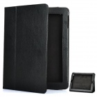 Protective Leather Case for The New iPad Black (Mobile Phone Leather Cases Category)