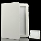 Protective Leather Case for The New iPad White (Mobile Phone Leather Cases Category)