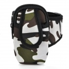 Sports Armband Bag for iPhone 3G / 3GS / 4 / 4S / Cell Phone / MP3 / MP4 Camouflage (Mobile Phone & PDA Holders Category)