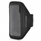 AL591 Sports Outdoor Armband with Stylus Pen for iPhone 5 -- Black (Mobile Phone & PDA Holders Category)
