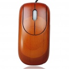 Bamboo 800DPI USB Optical Mouse Rosewood Colour (150cm Cable) (Computer Mice & Presenters Category)