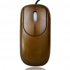 Bamboo 800DPI USB Optical Mouse Bronze (150cm Cable) (Computer Mice & Presenters Category)