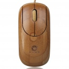 BE622 Bamboo 800DPI USB Optical Mouse -- Bamboo Colour (150 centimetres Cable) (Computer Mice & Presenters Category)