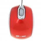 SW699 MCSaite USB 2.0 800DPI Optical Mouse with Retractable Cable -- Red (70 centimetres Cable) (Computer Mice & Presenters Category)