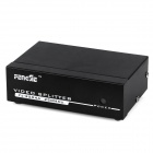 FJ 2504A 1 In 4 Out VGA Splitter Black (DC 9V) (USB Hubs & Switches Category)