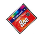 Transcend 133X 8GB Compact Flash CF Memory Card (Memory Cards & USB Drives Category)