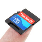 TransFlash MicroSD to SD Converter Card (Memory Cards & USB Drives Category)