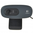 Logitech C270 HD 720P USB 2.0 Webcam with Built In Microphone (Black) (Computer Webcams Category)