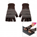 PP724 USB Heated Warm Gloves -- Coffee (Pair) (USB Gadgets Category)
