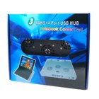 High Performance 3 Fan Laptop Cooling Pad with 4 Port USB Hub (Laptop Accessories Category)