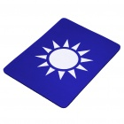 KMT Party Flag Pattern Nature Rubber Mouse Pad Mat Blue Plus White (USB Mouse Pads Category)