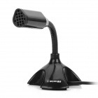 Ge-yes SP721 USB Powered Audio Chatting Networking Recording Microphone for Computer -- Black (Microphones Category)