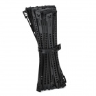 HW450 PE Plastic Cable Management Ties -- Black (50 Pieces) (Cable Management Category)