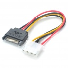 SATA to Molex Power Converter Cable (15cm Length) (Computer Networking Category)