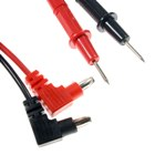 Multimeter Test Leads (75cm / Red Plus Black Leads) (Professional Tools Category)