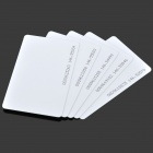 LB617 TK4100COB Blank ID Cards -- White (Slim Version / 5 Pieces) (Electronic Gadgets Category)