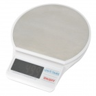 XQ731 TK--GD TB-01 Electronic 2.0 Inches LED Touch Digital Bench Scales -- White Plus Silver (3kg / 0.1g / 2 x AAA) (Digital Scales Category)